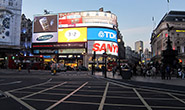 Piccadily Circus in London