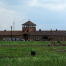 auschwitz concentrarion camp entrance